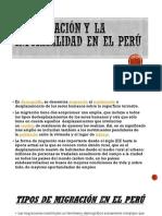 La Migración y La Informalidad en El Perú