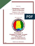 Montgomery Public Schools Audit