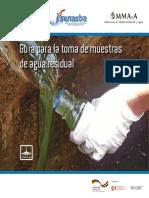 Guía para la toma de muestra de agua residual