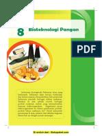 Bab 8 Bioteknologi Pangan
