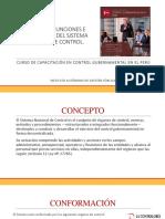 Funciones e Importancia Del Sistema Nacional de Control