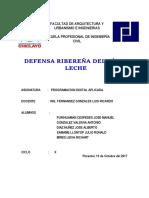 Defensa Ribereña de Rio La Eche
