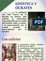 Sesion III -La Sofistica y Sócrates