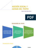Pedagogia Social y Texto