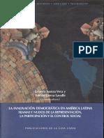 Isunza, Innovación democrática en América Latina