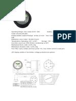 Battery Indicator Hour Meter