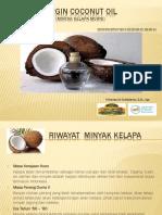 Virgin Coconut Oil Presentasi