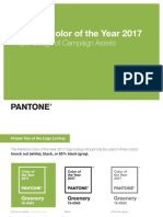 Pantone COY17 Campaign Asset Usage