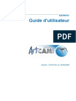 ArtCAM Pro UserGuide FRA