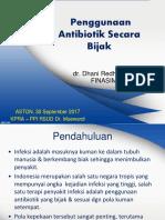2. Materi Antibiotik Bijak Final Dr Dhani 30092017 Edit