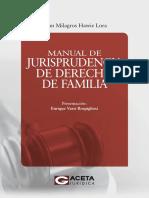 Manual de Jurisprudencia de Derecho de Familia - Illian Milagros Hawie Lora