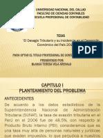 TESIS (El Desagio Tributario y su Incidencia en el Desarrollo Económico del País 2010-2015).ppt