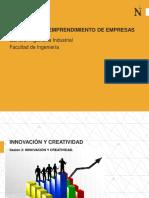 Sesion 2 - Innovación y Emprendimiento de Empresas 2017-2