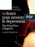 Unlearn Your Anxiety and Depression the First Five Chapters_ a Self-guided