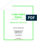 CARE Index Infant Manual Jan[1]. 06 Spanish