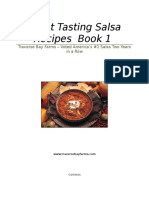 Secret Salsa Recipes