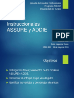presentacinmodeloinstruccionalassureyaddie-140901124535-phpapp02