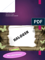 PPT Halogen