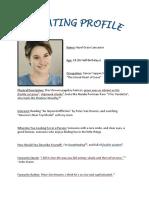 SPK Dating Profile