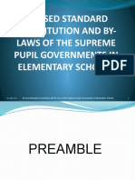 REVISED STANDARD CONSTITUTION AND BY-LAWS OF THE SUPREME