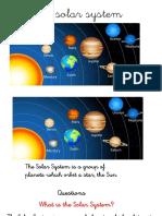 Unit 1 Social Science Solar System Internet
