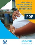 Vivencias y Relatos Sobre El Embarazo en Adolescentes 1