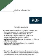 Variable Alñeatoria
