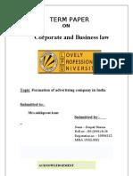 DEEPAK Law Term Paper
