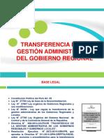 Transferencia de La Gestionn II