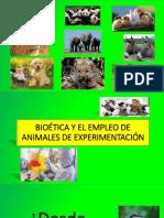 Ppt Bioetica y Uso de Animales
