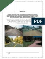 Ingeniería de Caminos rurales