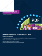 03 Preliminary Assessment_Disaster Resilience Scorecard for Cities_UNISDR