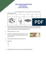Soal Calistung Kelas 1 Tahap 1