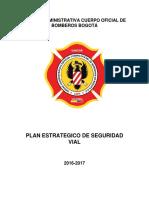 Plan Estrategico de Seguridad Vial Vf PDF