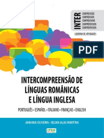 Intercompreensao de Linguas - eBook