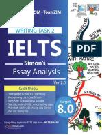 Toan ZIM - IELTS Writing Task 2 - Simons Essays Analyse