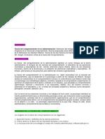 procesos administrativos dirigir