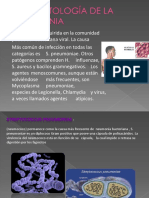 Fisiopatología de La Neumonia
