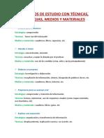 10 METODOS DE ESTUDIO CON TÉCNICAS.docx
