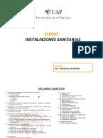 Instalaciones Sanitarias Presentacion 21-06-2017