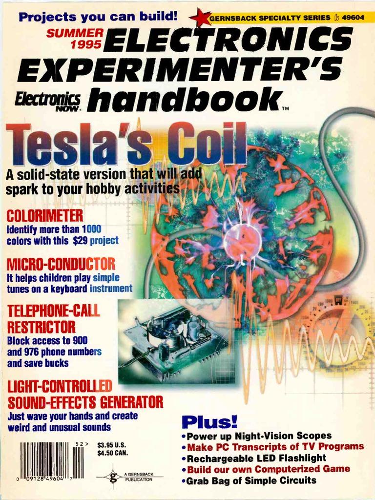 electronics experimenters handbook 1995 summer telephone ibm pc