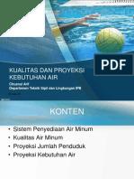 TPSA-2 Proyeksi Kebutuhan Air