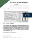Construcción de Columna Estratigráfica en 13 PASOS