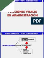 Funciones de Adminitracion