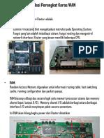 12 - Instalasi PK WAN-Komponen Router