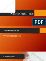 presentation right time