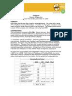 FeelGood Financial Summary 2008