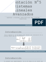 Presentación N°6 Sistemas Lineales Avanzados