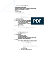 Patient Exam and Diagnostic Records