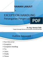 PL 09 ExceptionHandling